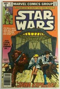 STAR WARS#32 FN/VF 1980 MARVEL BRONZE AGE COMICS