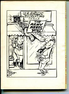 Army Fun 8/1963-Crestwood-military-spicy cartoons-jokes-comics-Wyma-VG/FN