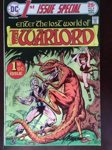 DC COMICS 1ST ISSUE SPECIAL #8 WARLORD VF/NM SIGNED MIKE GRELL