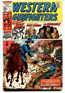 WESTERN GUNFIGHTERS #1-1970-MARVEL-GHOST RIDER-GUNHAWK- VG-