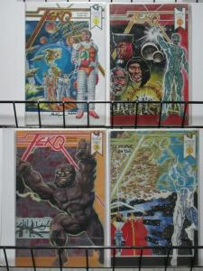 TEKQ (1992 GAUNTLET) 1-4 the COMPLETE epic sci-fi story