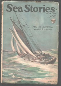 Sea Stories 9/1929-Street & Smith-Victor Perry cover art-Adventure pulp ficti...