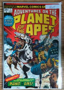 Planet of the Apes #1,2,3,4 in VF condition