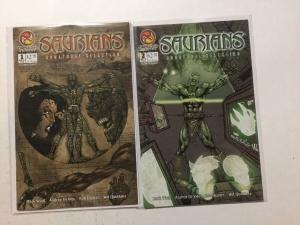 Saurians Unnatural Selection 1 2 Complete NM Near Mint