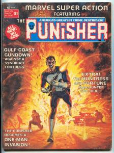 Marvel Super Action #1 1976-THE PUNISHER-Mike Ploog VG