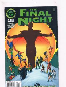 The Final Night #4 VF 1st Print DC Comic Book Batman Superman Flash DE3