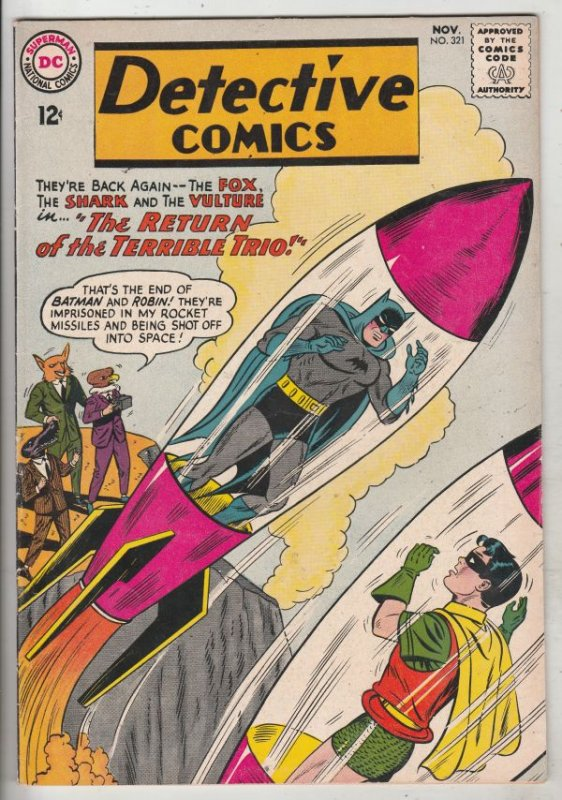 Detective Comics #321 (Nov-63) VF/NM High-Grade Batman