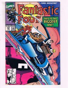 Fantastic Four #341 VF Marvel Comics Comic Book Thing Torch DE14