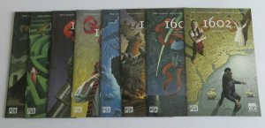 1602 #1-8 Complete Set High Grade VF/NM Marvel Comics Neil Gaiman Andy Kubert