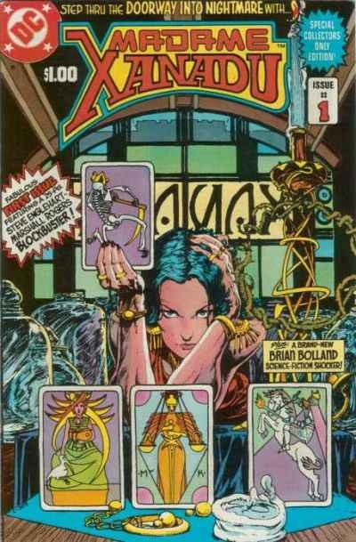 Madame Xanadu (1981 series) #1, NM- (Stock photo)