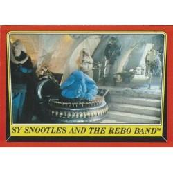 1983 Topps Star Wars Return Of The Jedi SY SNOOTLES AND THE REBO BAND #20 EX
