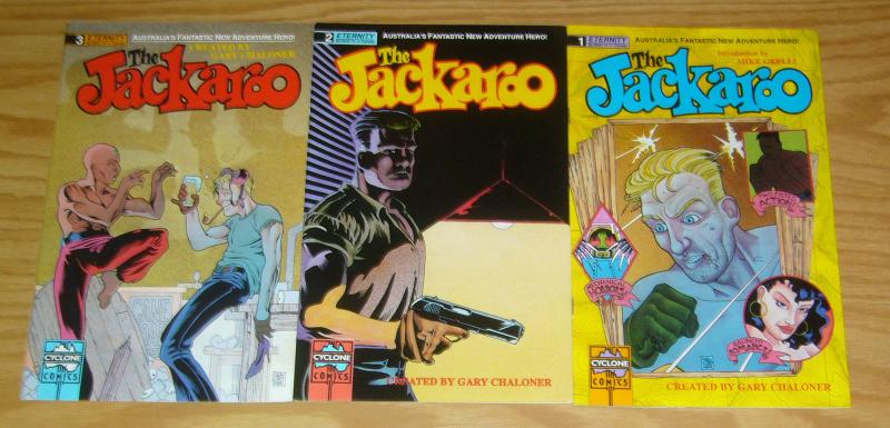the Jackaroo #1-3 VF/NM complete series - australia's adventure hero - comic set