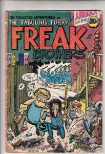 Fabulous Furry Freak Brothers #1 (Jan-71) FR/GD Low-Grade The Freak Brothers ...