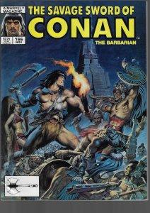 Savage Sword of Conan #166 (Marvel, 1989)