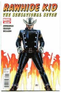 RAWHIDE KID #1 2 3 4, NM, Sensational Seven, 2010, more Westerns in store