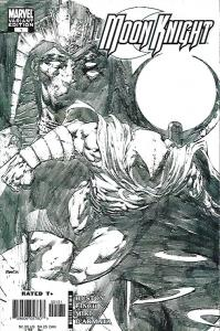 MOON KNIGHT #1 FINCH 1:20 SKETCH VARIANT $10.00