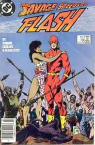 Flash (1987 series) #10, Fine+ (Stock photo)