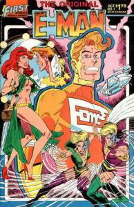 Original E-Man #1 VF/NM; First | save on shipping - details inside