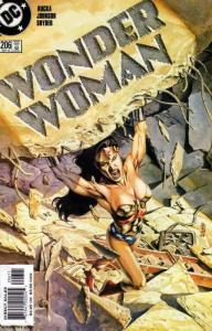 Wonder Woman (2nd Series) #206 VF/NM; DC | save on shipping - details inside