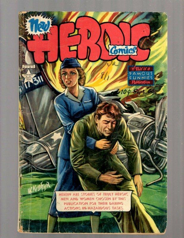 Heroic Comics # 68 VG Golden Age Comic Book Famous Funnies Publication JK7