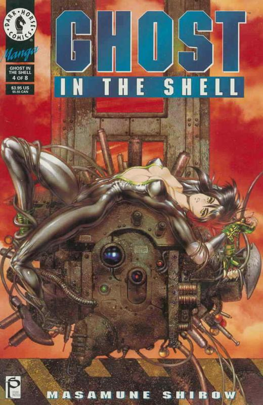 Ghost in the Shell #4 VF/NM; Dark Horse | save on shipping - details inside