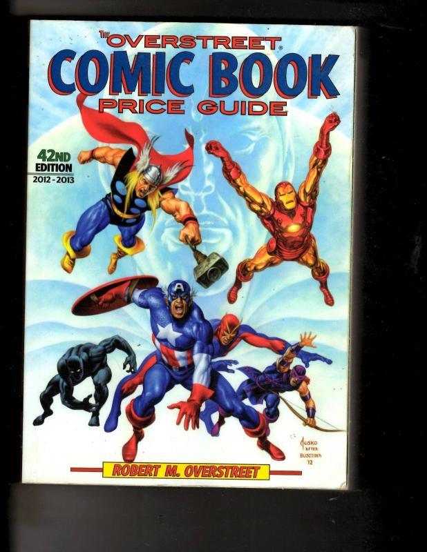 overstreet comic book price guide 42 softcover 2012 2013 avengers rh hipcomic com overstreet comic book price guide 2017 overstreet comic book price guide 46 torrent