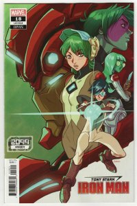 Tony Stark Iron Man #18 Kerschl 2099 Variant (Marvel, 2020) NM