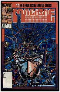 MACHINE MAN (1984) 1 Barry Smith