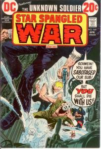 STAR SPANGLED WAR 169 FINE April 1973 COMICS BOOK