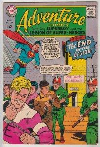 Adventure Comics #359 (Aug-67) VG/FN+ Mid-High-Grade Legion of Super-Heroes, ...