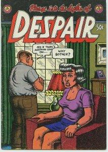 DESPAIR / 1st Printing / 1969 / 28 pages / The Print Mint / Robert Crumb