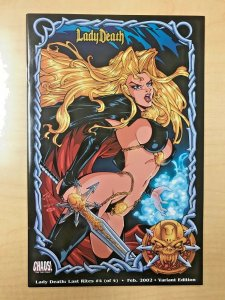 LADY DEATH Last Rites #4 Variant Edition Cover by WILSON TORTOSA Brian Pulido