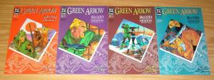 Green Arrow: Blood of the Dragon #1-4 VF/NM complete story - mike grell 21-24