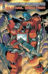Transformers, The: All Hail Megatron #13A VF/NM; IDW | save on shipping - detail