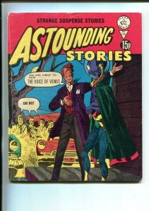ASTOUNDING STORIES -#136-BRITISH-HORROR-SPACEMAN--SCI FI-vg