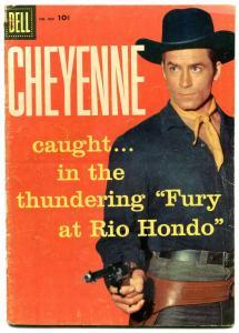 Cheyenne- Four Color Comics #803 1957- Clint Walker G