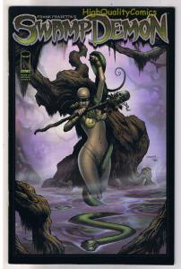 Frank Frazetta  SWAMP DEMON #1, NM, Josh Medors, 2008, more in store
