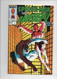 SPIDER-MAN and DAREDEVIL Special Edition #1, VF/NM, Frank Miller, 1984, Marvel