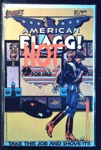 American Flagg! #8 (1984)