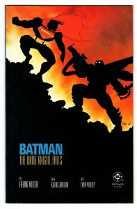 BATMAN THE DARK KNIGHT RETURNS #4 comic book1986-Batman vs. Superman-first print