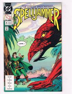 Spelljammer #6 VG DC Comics TSR Comic Book Kesel Feb 1991 DE38 AD11