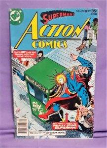Cary Bates Superman ACTION COMICS #475 Kurt Schaffenberger (DC, 1977)!