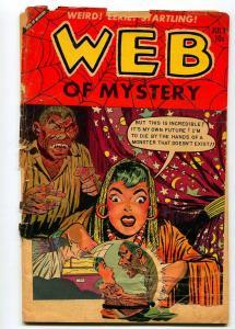 WEB OF MYSTERY #19 1953-FR