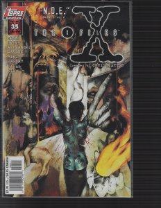X-Files #35 (Topps, 1997) NM