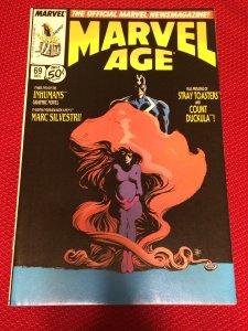 Marvel Age #69 Marvel (1988) VF
