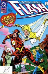 Flash (1987 series) #59, VF- (Stock photo)