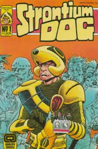 Strontium Dog #1 FN; Fleetway Quality | save on shipping - details inside