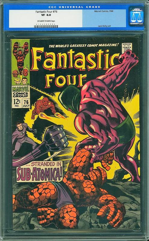 Fantastic Four #76 (Marvel, 1968) CGC 8.0