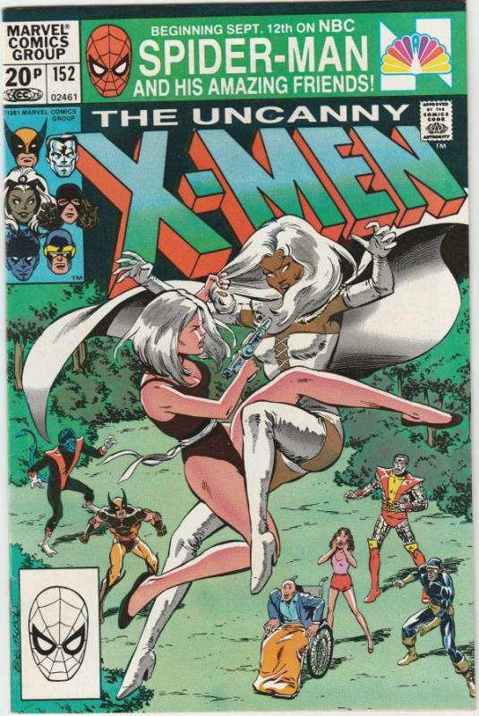 X-Men #152 (Dec-81) NM- High-Grade X-Men