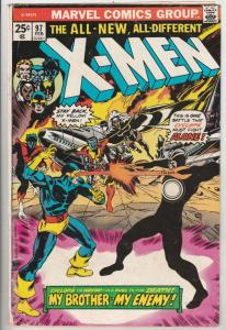 X-Men #97 (Feb-76) VG- Affordable-Grade X-Men